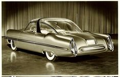 1953 LINCOLN XC500 Concept.