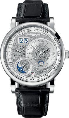 Lange-1-Handwerksunst-Tourbillon-Perpetual-Calendar-Watch.jpg (610×1044)