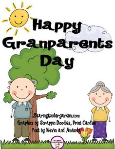 Grandparents Day {updated with and and hand print sheets on made B&W on is What is List of FUN resources and books- page Handprint art- pages for preschool, PreK, K, and Invitation to classroom- pages AND a Programmable versio. Grandparents Day Activities, Happy Grandparents Day, Fathers Day Poems, Fathers Day Crafts, Kindergarten Classroom, Kindergarten Activities, Classroom Ideas, Preschool Ideas, Craft Ideas