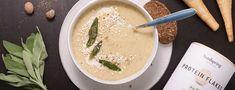 Soupe de panais et pommes de terre - Bon Appetit, Fondue, Hummus, Cantaloupe, Veggies, Fruit, Eat, Ethnic Recipes, Sport