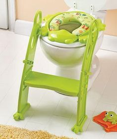 Potty Seat With Step GREEN OR ORANGE