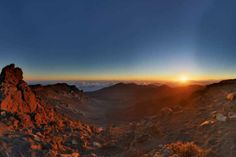 Haleakala Sunrise — at Haleakala Visitor's Center, Maui, Hawaii — #usa2013