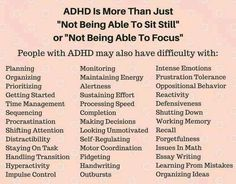 deppresion as well as stress and anxiety truths, signs and symptoms when suffering clinical depression and the best methods to resolve it. Adhd And Autism, Adhd Kids, Mental And Emotional Health, Mental Health Awareness, Infp, Introvert, Adhd Facts, Adhd Quotes, Adhd Help
