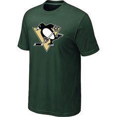 NHL Pittsburgh Penguins Big & Tall Logo T-Shirt - D.Green