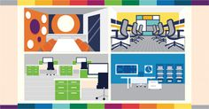 Productive Palette: How color can influence workplace behavior