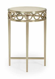 SalonRound Side Table(341-123) by Bernhardt Hospitality