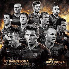 FIFA world IX pro nominees ⚽️