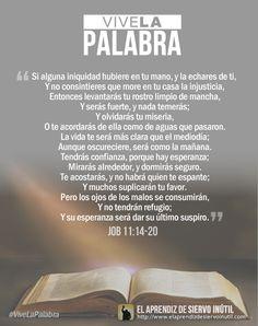 #ViveLaPalabra - Job 11:14-20