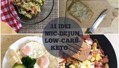 Meniu dieta keto pentru o saptamana intreaga - Nutriblog Low Carb Keto, Potato Salad, Bacon, Avocado, Fruit, Ethnic Recipes, Food, Salads, Meal