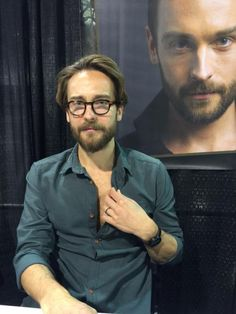 Married men should not be tempting viewers with chest hair! Naughty Tom!