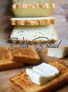 The best keto bread recipe in all the land! Low carb.
