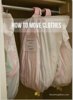 Awesome tip to make moving easier!
