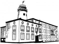 Zeevaartschool #Boulevard #illustraties #tentypografie #ontwerpbureau #vlissingen #thee #zeeland tentypografie.com