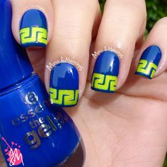 Neon Greek with Neverland Nail Vinyls pt. 3