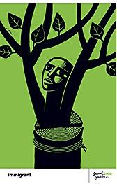 poster by Luba Lukova Luba Lukova - ImmigrantLuba Lukova - Immigrant Luba Lukova, Political Posters, Social Art, Environmental Art, Cool Posters, Illustrators, Art Projects, Illustration Art, Poster Prints