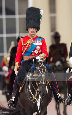Prince Charles, Prince of Wales during the Trooping the Colour, this year marking the Queen's 90th birthday at The Mall on June 11, 2016 in London, England. The ceremony is Queen Elizabeth II's annual birthday parade and dates back to the time of Charles II in the 17th Century when the Colours of a regiment were used as a rallying point in battle. (Photo by Mark Cuthbert/UK Press via Getty Images)