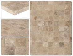 BuildDirect – Travertine Tiles - Tumbled – Noce Classico Rustic