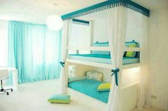 Girl's bedroom idea