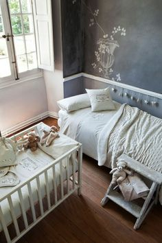 *bellaMUMMA {life is beauty-full}: home inspiration: GREY & WHITE KIDS BEDROOMS