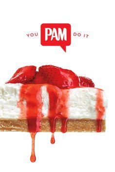 Great things await those who bake. #YouPamDoIt