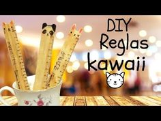 Crea tus reglas kawaii personalizadas / Tutorial / regreso a clases /school - YouTube