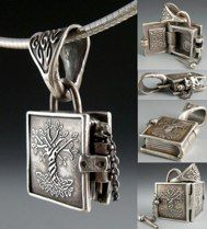 Book of Kells: Tree of Life pendant