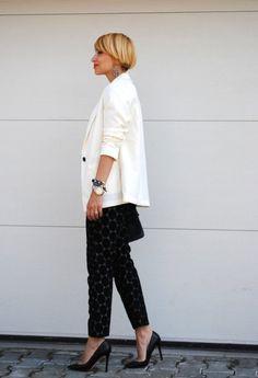 Marni x H Trousers and White Blazer