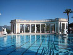 Hearst Castle - Neptune Pool