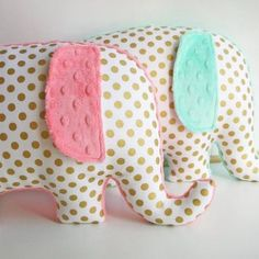 Elephant pillows , love!