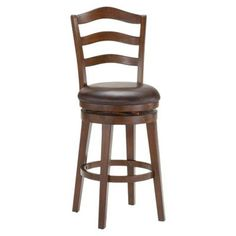 "Hillsdale Windsor 30"" Swivel Bar Stool with Cushion"