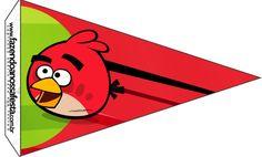 Bandeirinha Sanduiche Angry Birds