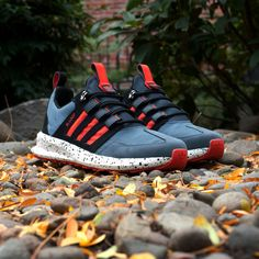 This week's #kickoftheweek: the #adidasOriginals #SLLoop Runner Trail. Built tough for cooler weather and rougher terrain. Available now in the U.S.