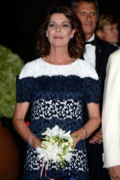 Princess Caroline of Monaco wears Chanel on son's big day -