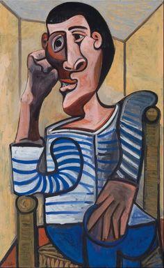 Pablo Picasso - Le Marin, 1943.