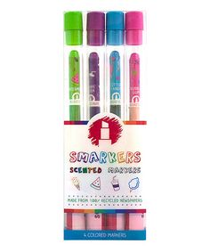 Another great find on #zulily! Colored Smarkers - Set of Four #zulilyfinds