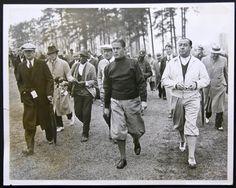 1934 Bobby Jones and Walter Hagen Masters Tournament