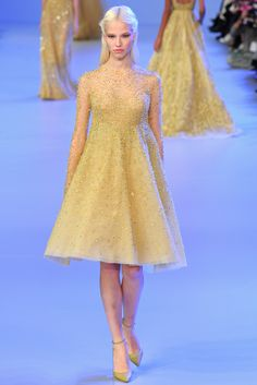 #Runway #ElieSaab #Paris - #HauteCouture #SS2014 - #Vogue