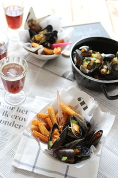 Foodwise | Mussels with Belgian fries for Food Revolution day
