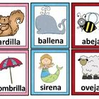 A set of 50 pairs of rhyming cards in Spanish. These cards can be used for bulletin boards or word walls, for instruction, or for practice in small...