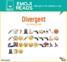 #EmojiReads: Book Plots in 140 Characters or Less | Epic Reads