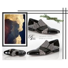 A fashion look created by Nura-Fashion featuring fad, , Double striped corner, Rina's Couture Italian Leather Shoes New Collection New Sizes Italian Leather Shoes, Designer Shoes, Men's Shoes, Fashion Shoes, Shopping, Collection, Style, Swag, Man Shoes