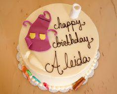 Sweet Lavender Bake Shoppe: a baking themed birthday cake...