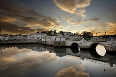 Tavira In The Algarve Algarve, Alcacer Do Sal, Places Ive Been, Places To Go, Portugal Holidays, Beaches In The World, I Want To Travel, Beautiful Places, City