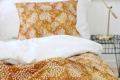 Elderflower Gold - Duvet cover & pillow case / Single