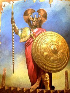 Christos Giannopoulos - Agamemnon. Tags: trojan war, iliad, agamemnon.