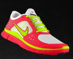 My new shoes! so bright! :)