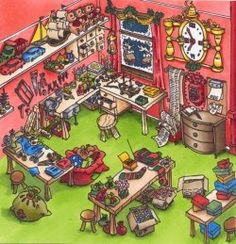elves workshop - Google Search