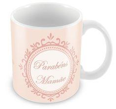Caneca Personalizada Parabéns Mamãe