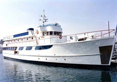 John Wayne's Wild Goose still cruises in California, hosting day trips under the operation of Hornblower Cruises & Events.