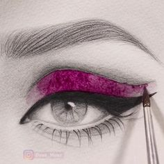 The post Satisfying watercolor video appeared first on Woman Casual - Drawing Ideas Pencil Art Drawings, Art Drawings Sketches, Indie Drawings, Watercolor Video, Watercolor Paintings, Eye Art, Beautiful Drawings, Drawing Techniques, Art Tutorials